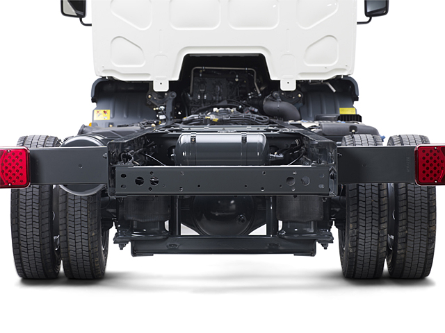 Wide variety of chassis configurations
