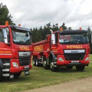 New Tipper for Newall Civil Engineering