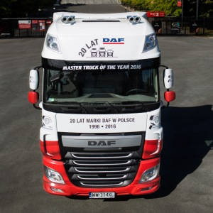 DAF XF Awarded 'Master Truck of the Year 2016'